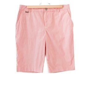 Ralph Lauren Active Pinstripe Bermuda Shorts